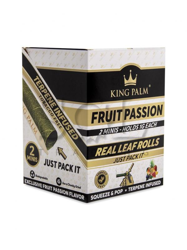 King Palm Mini 2pk Fruit - Display of 20