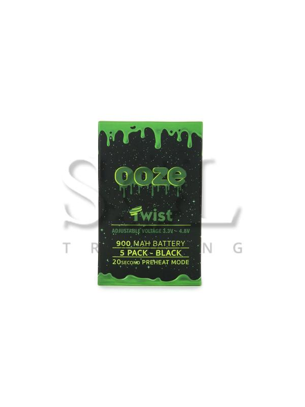 Ooze 900Mah Twist Battery - 5pk