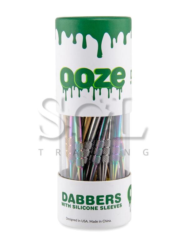 Ooze Dab Tool with Silicone Sleeve - Pack of 30