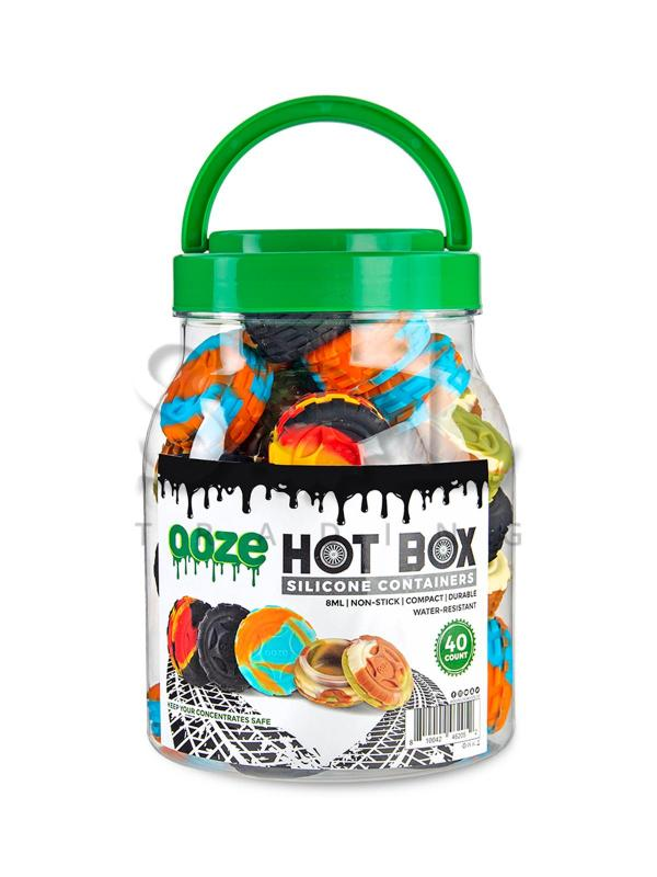 Ooze Hot Box Silicone Containers - 40ct